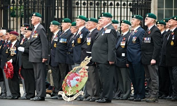 D-Day veterans lead Remembrance Day tribute in poignant centenary year