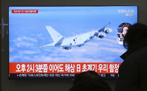 Seoul accuses Japanese patrol plane of threatening flight