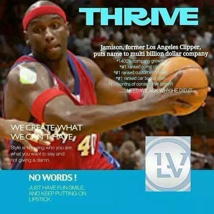 Attention, guys! Want to take your energy, weight loss, and work outs to the next level?! Then look to the THRIVE 8 Week Experience! All natural, steroid free, gluten free, and full of amazingly good stuff! And be sure to check out the FREE promo going on until midnight Eastern Time tonight!