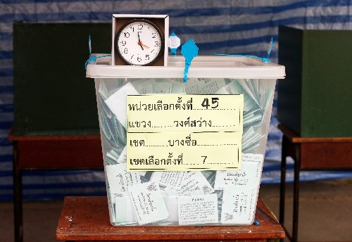 Thai election exit poll indicates opposition wins most seats, not enough to form government