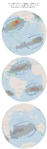 First of Its Kind Map Reveals Extent of Ocean Plastic