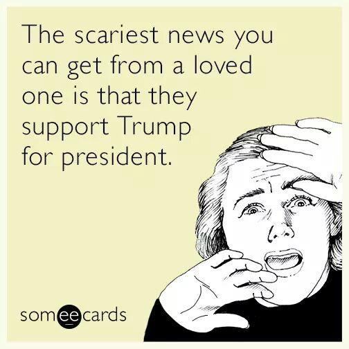 """A house divided..."" #2016 #Trump"