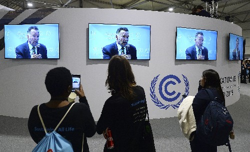 """UN chief: Climate change is """"most important issue we face"""""""