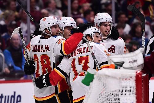 Rantanen, Donskoi score twice as Avs beat Flames