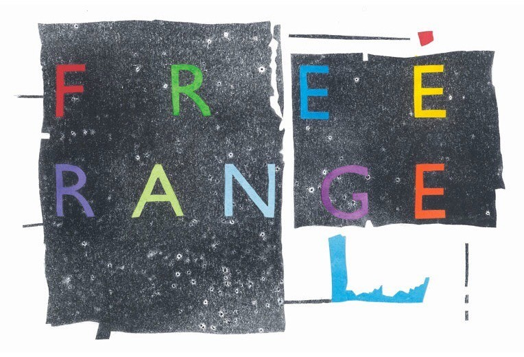 FREE RANGE: Experimental Music, Poetry and Film - Cover