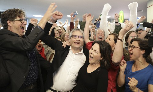 Greens triumph as German governing parties perform poorly