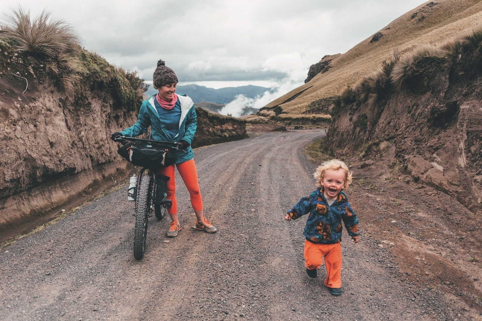 Epic ride: family bikepacking in Ecuador