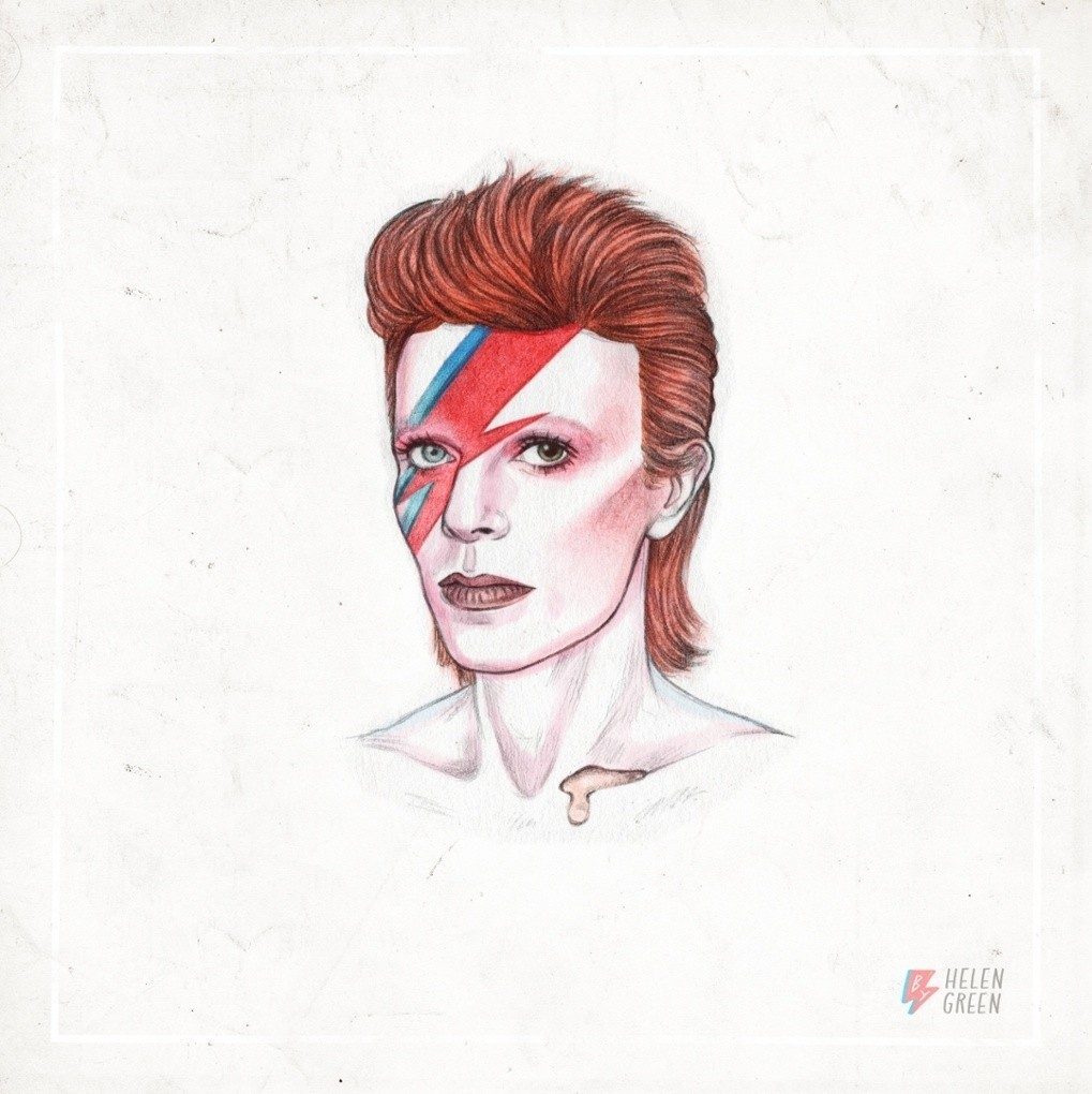 Helen Green's reinventions of David Bowie – in pictures