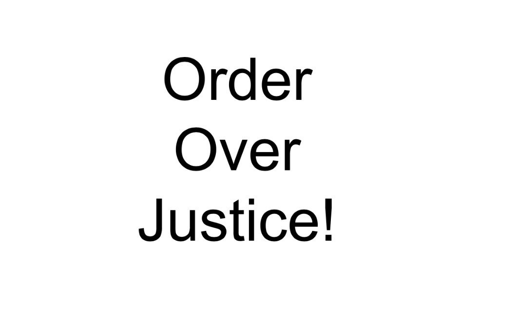 """""""White moderate's are more devoted to """"order"""" than to justice"""""""