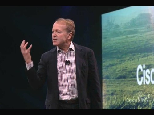 Retiring Cisco CEO delivers dire prediction: 40% of companies will be dead in 10 years