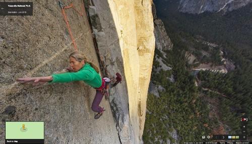 Google Maps Now Lets You Scale Yosemite's El Capitan Mountain
