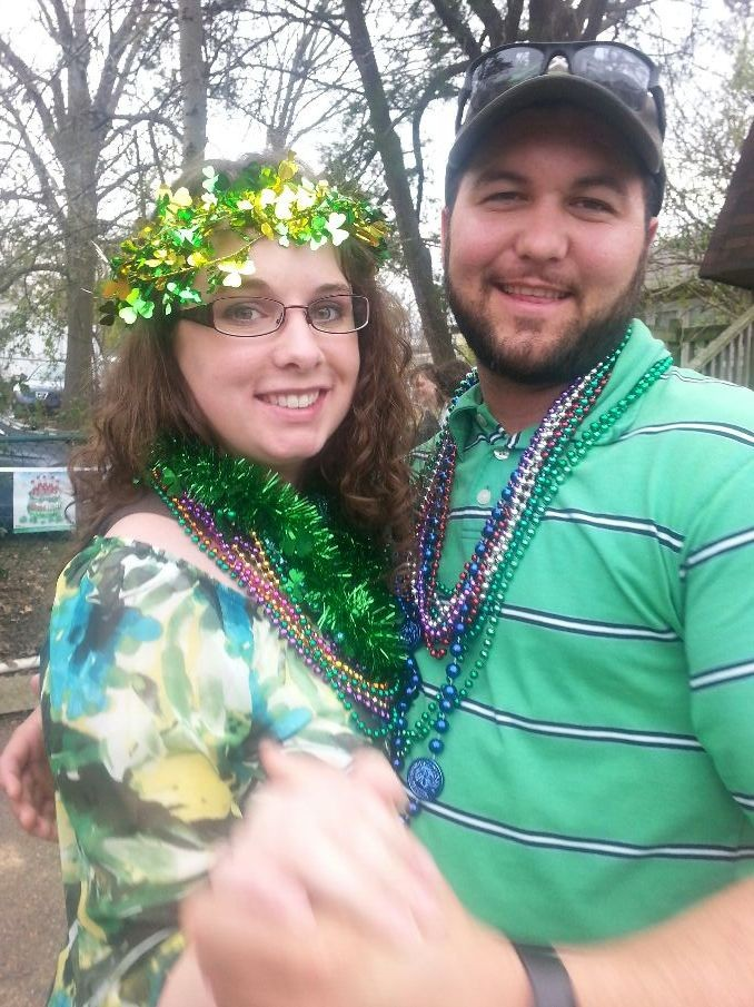 Owen and I at Finnian's St Patty's Day celebration!