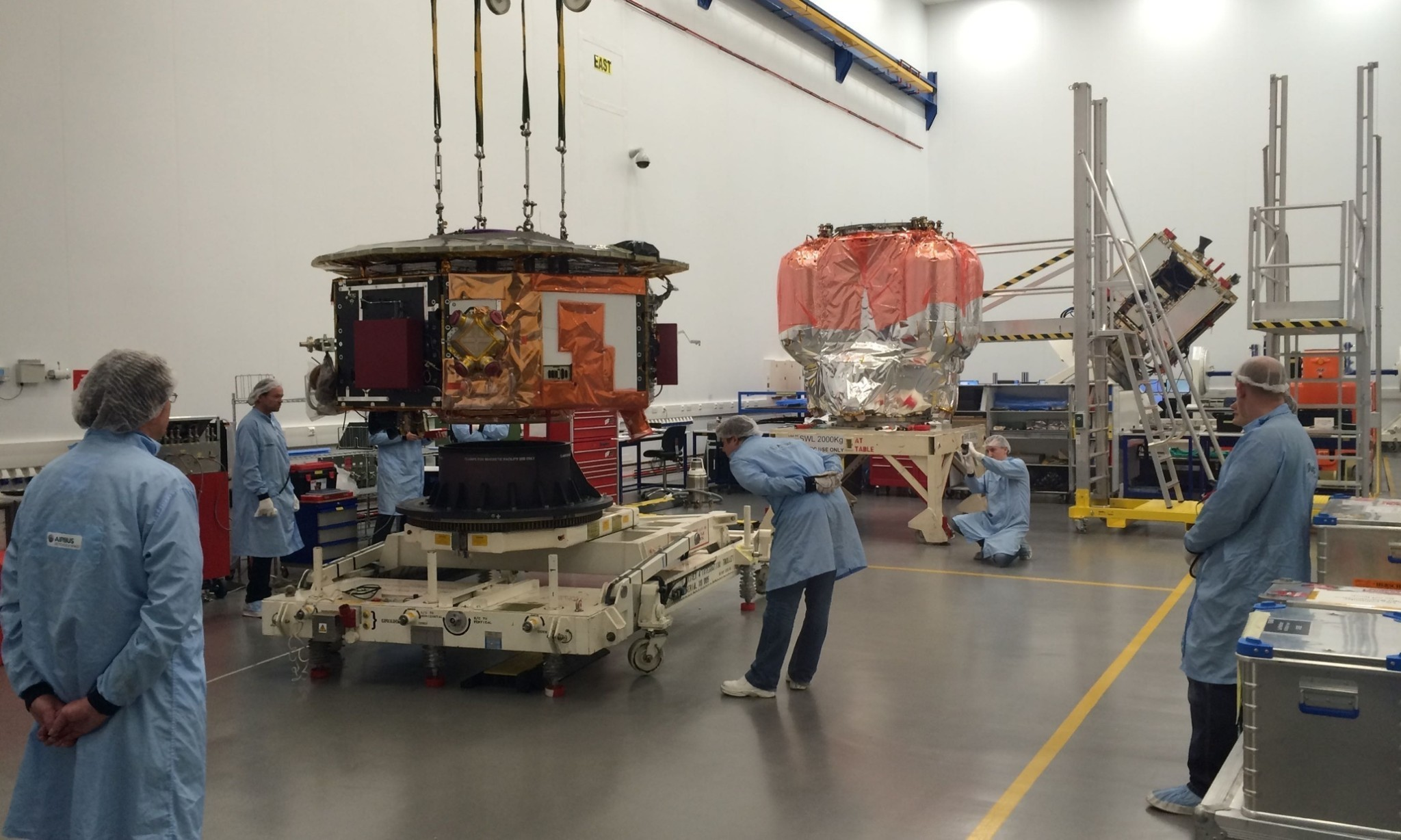European Space Agency's gravity probe leaves UK for final tests before launch
