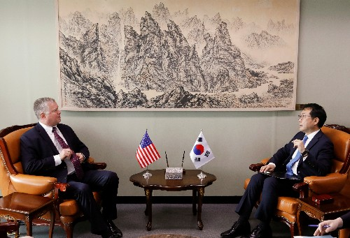 U.S. envoy Biegun says will focus on North Korea denuclearization, not take up Russian post