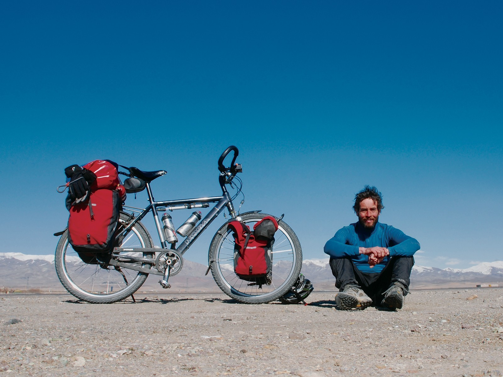 Meet a traveller: Jeremy Scott, solo cyclist extraordinaire