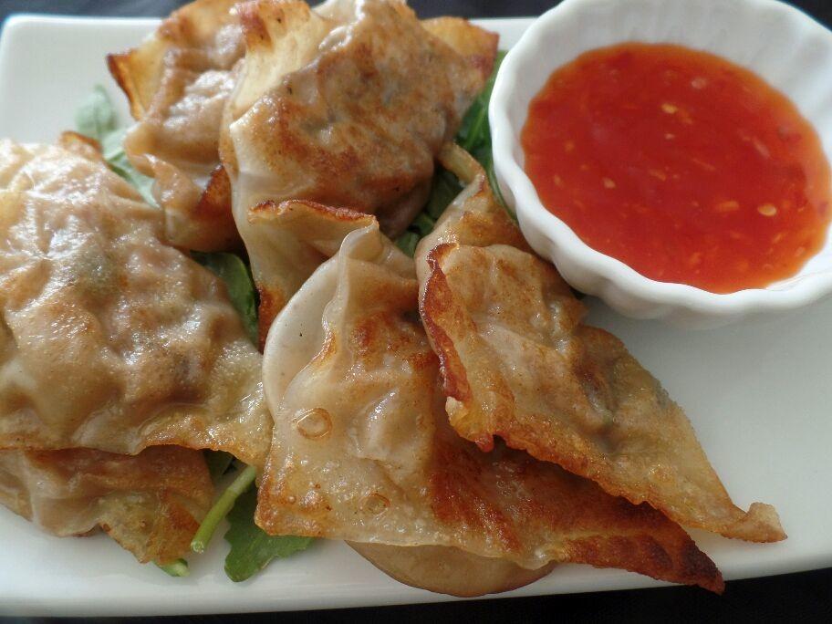 Pot stickers (Chinese dumplings)