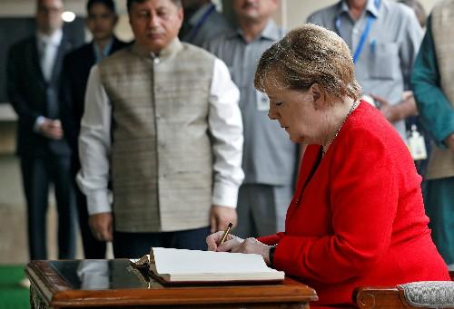 Kashmiris' situation is unsustainable, Merkel says