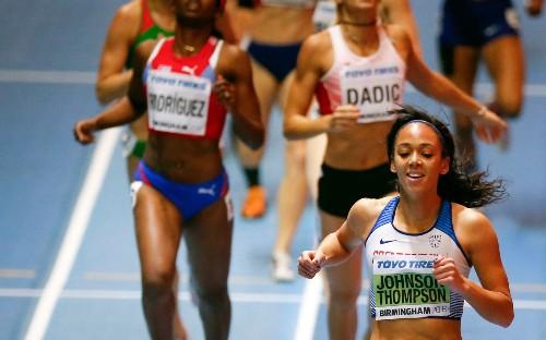 Katarina Johnson-Thompson wins World Indoor Championships gold to claim global title at last