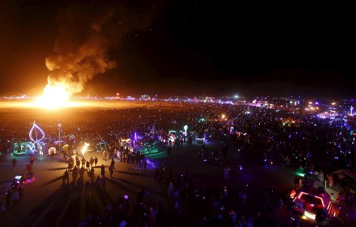 Feeling the Burn at Burning Man: Pictures