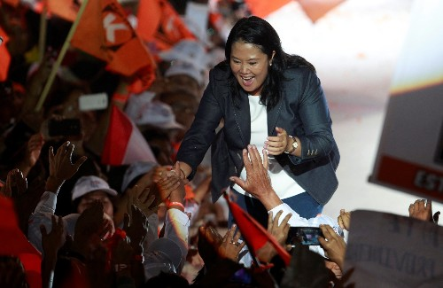 Fujimori scion faces another tight race for Peru's presidency