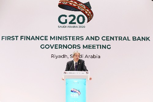 Climate change gets first mention in G20 finance communique of Trump era