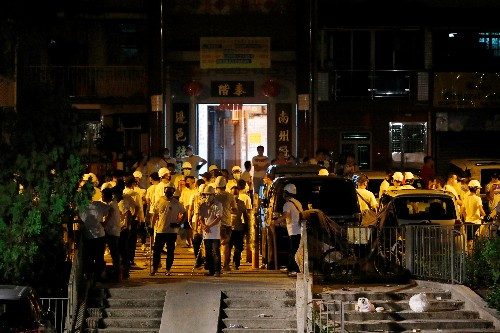 Triad gangster attack in Hong Kong after night of violent protests - lawmaker