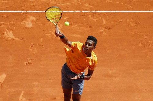 French withdrawal a painful lesson for Auger-Aliassime