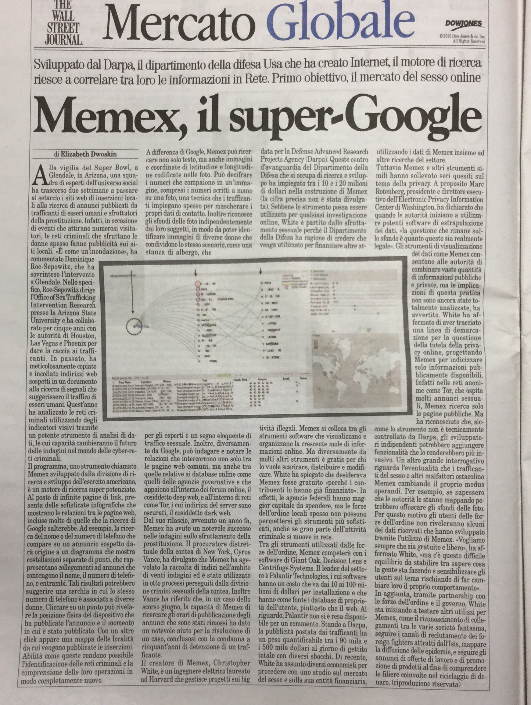 MEMEX Il SUPER - GOOGLE