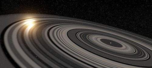 'Super Saturn' Exoplanet Has Massive Rings