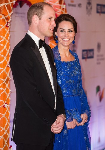 Kate and William Visit India: Pictures