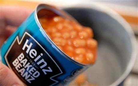 What price baked beans?