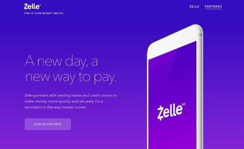 Zelle p2p payments push to compete with Venmo now has 19 US FI backers