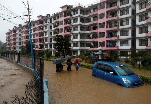 Death toll in Nepal floods rises to 55, thousands displaced
