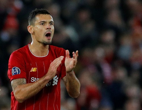Injury to Liverpool's Lovren gives Klopp problems in defence