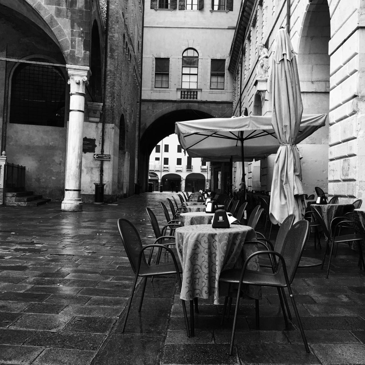 Padova:scorcio di Piazza delle Erbe