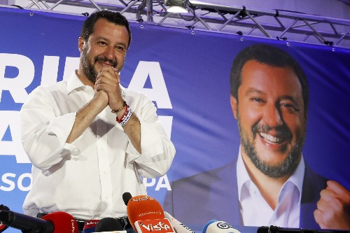 European victory gives Salvini more leverage in Italy