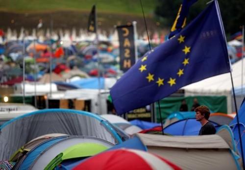 Glastonbury revelers in shock over Britain's vote to leave EU