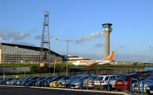 Luton Airport evacuated over alert on hair straighteners