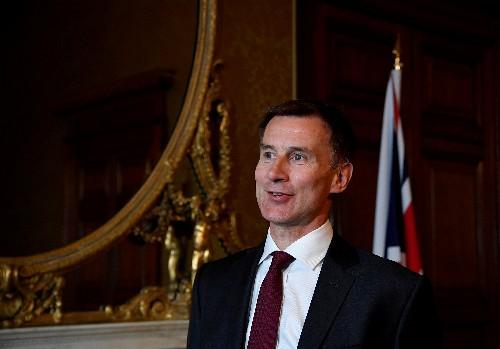 Britain tells Iran - Do not provoke the United States or Trump will retaliate