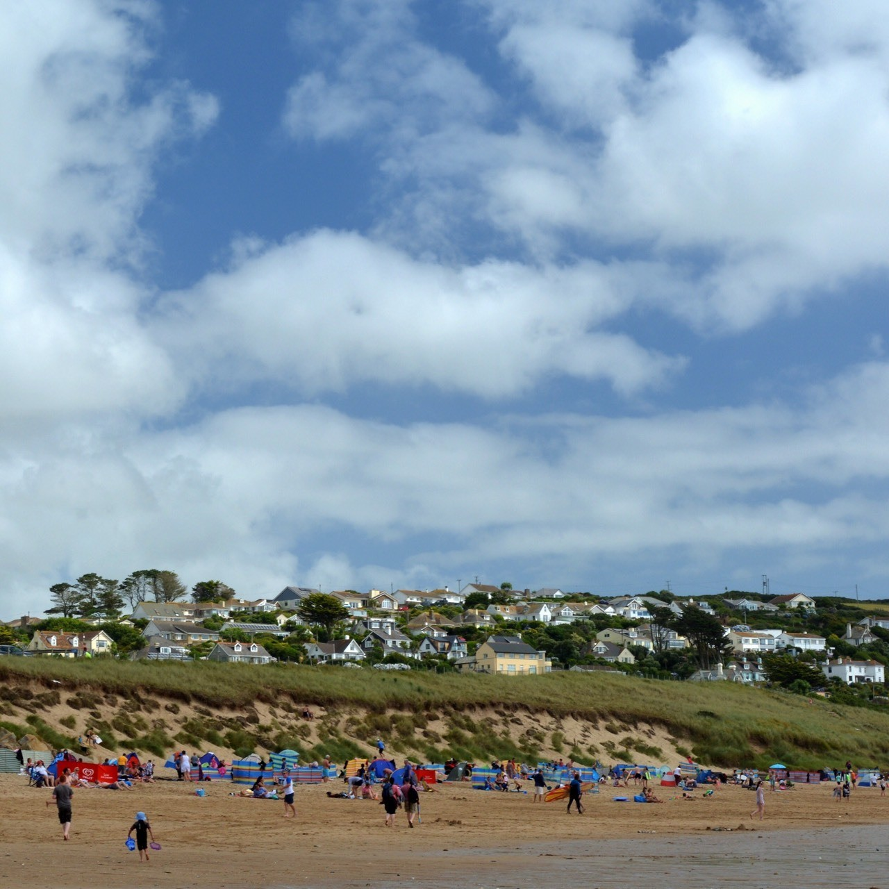 Praa Sands, Sunday lunchtime