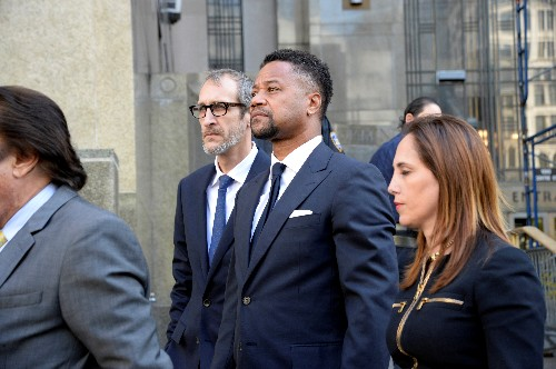 Actor Cuba Gooding Jr pleads not guilty to pinching woman's buttocks in club