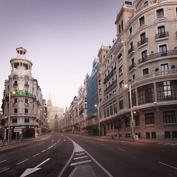 Madrid Will Ban Cars From Its Main Street