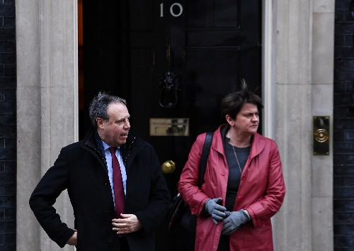 No deal between DUP and UK government on PM May's Brexit accord this week: ITV's Peston