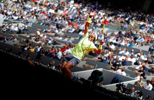 Top Pictures From Round 1 of the French Open