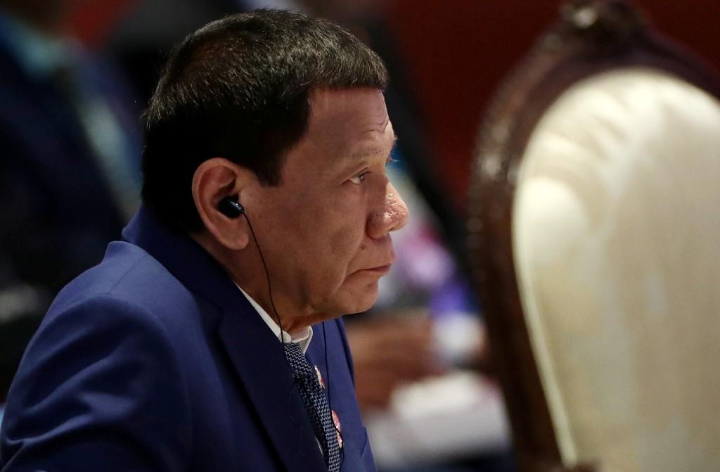 Philippines' Duterte keeps one meter social distancing rule
