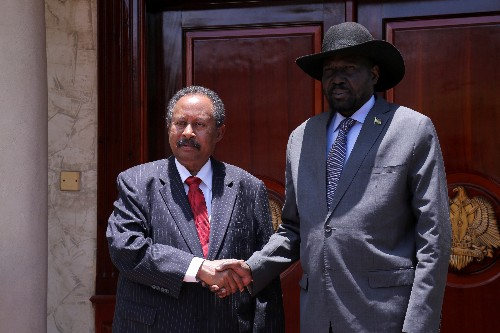 Sudan prime minister visits South Sudan to back new peace roadmap with rebels