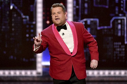 Corden's 'Late Late Show' visits London, gets silly in Paris