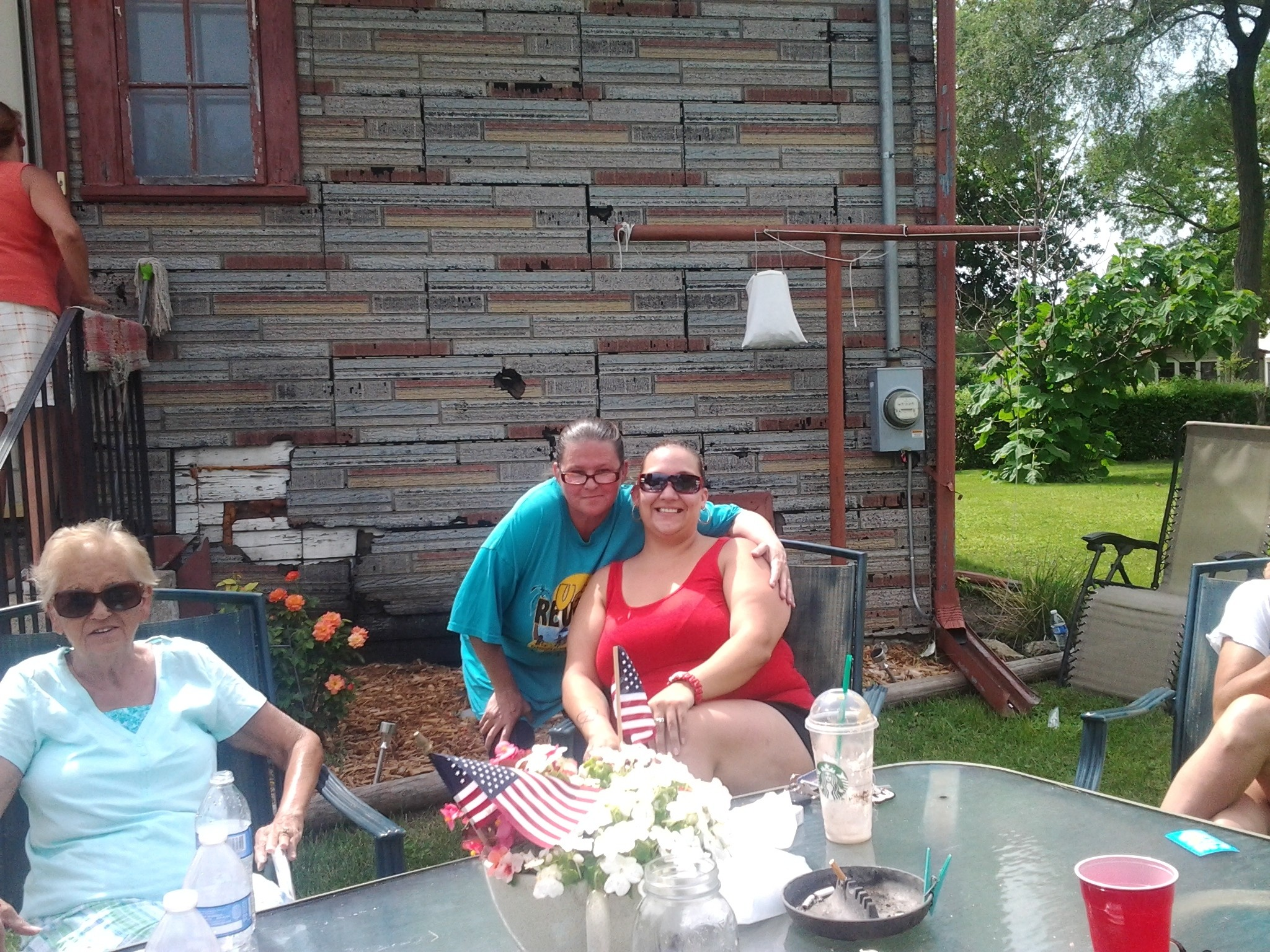 Me and cuz Kelly it had been years since I had seen her