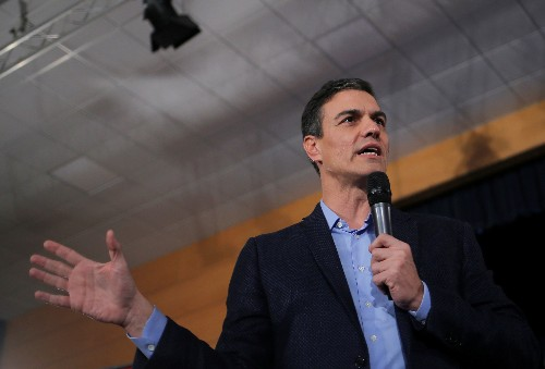 Spain's Socialists lead with 30.3 percent ahead of April 28 election: El Mundo poll