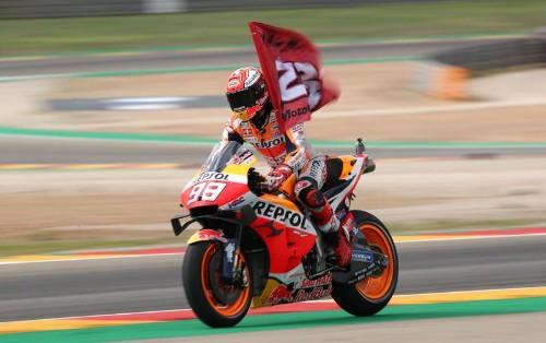 7ème victoire de la saison pour Marquez